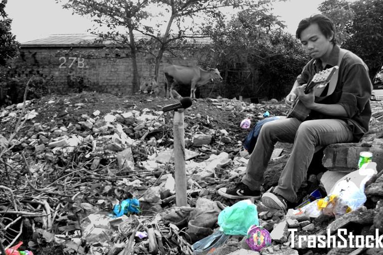 Festival Trash Stock Bali