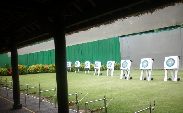 Lapangan Panah, Club Med Nusa Dua Bali