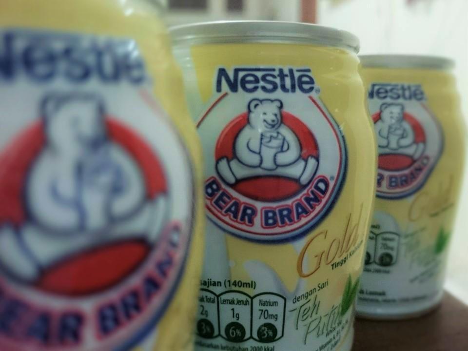 BEAR BRAND Gold White Tea - y Sari Novita