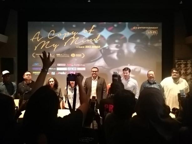 Prescon Film The Copy of My Mind -by Sari Novita
