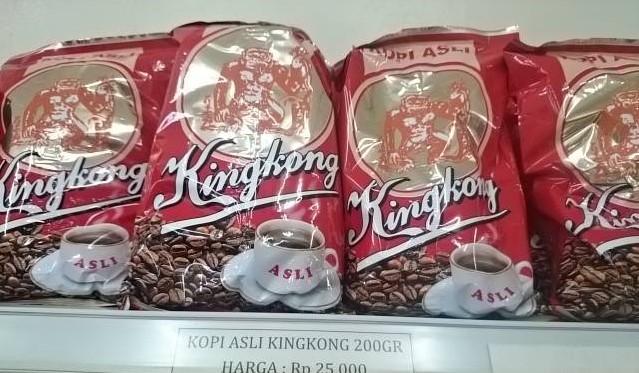 Kopi Kingkong Pangkalpinang. Dokumentasi Foto: Sari Novita