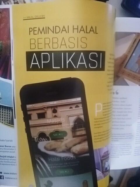 Halal Lifestyle Aplikas. Sari Novita