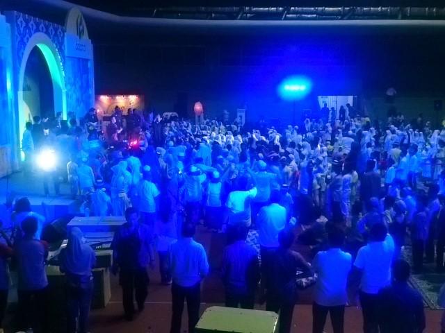 #BukberAdaro 1000 Anak Yatim Senang Kehadiran CJR