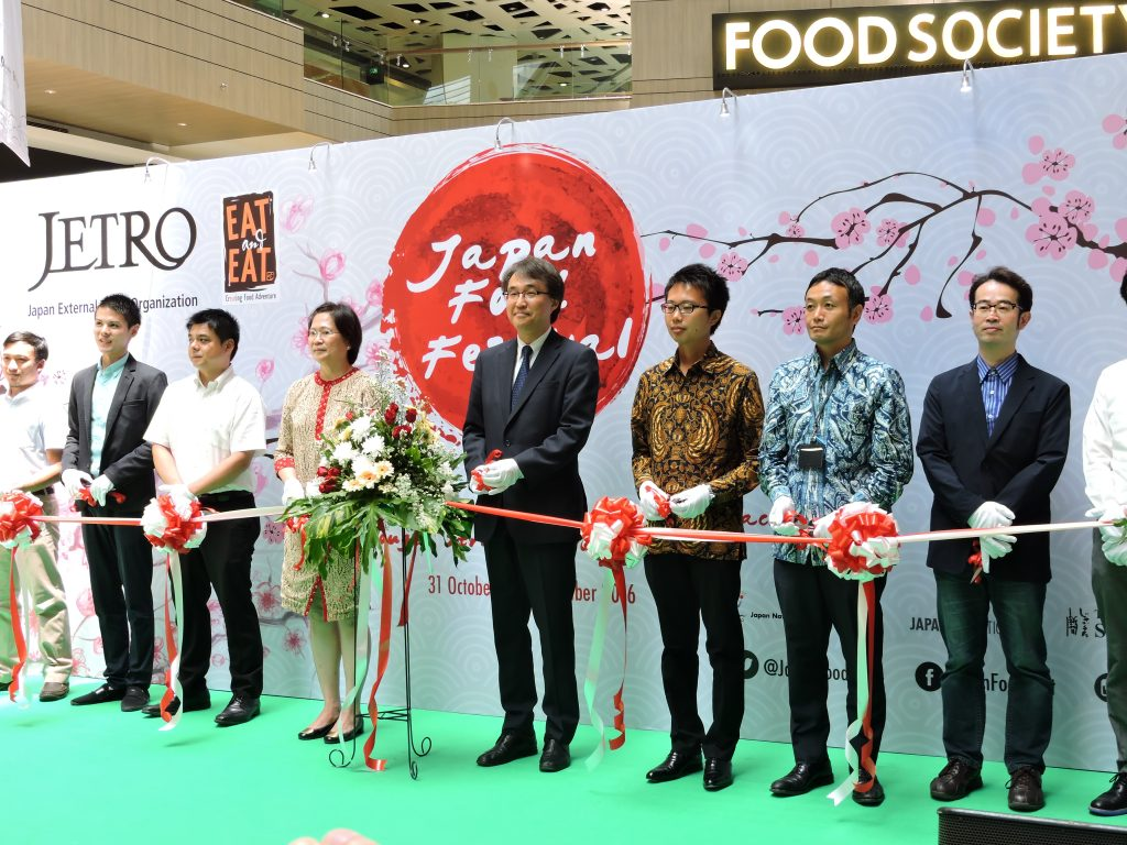 Partisipan Industri Kuliner Japan Food Festival