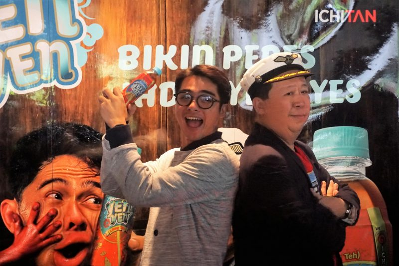 Ichitan Yen Yen dan Ricky Harun. Copyright: www.sarinovita.com