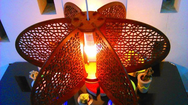 lampu gantung unik
