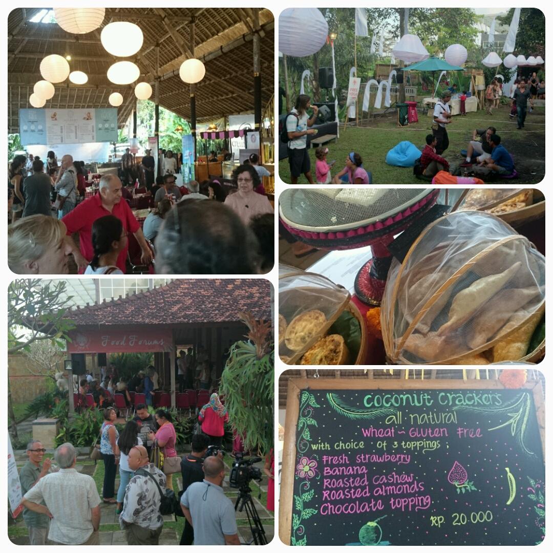Ubud Food Festival, Taman Baca