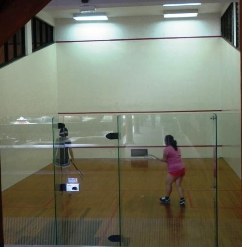 Ruang Squash Club Med Nusa Dua Bali
