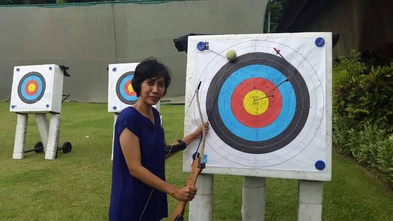 Belajar Memanah di Club Med Nusa Dua