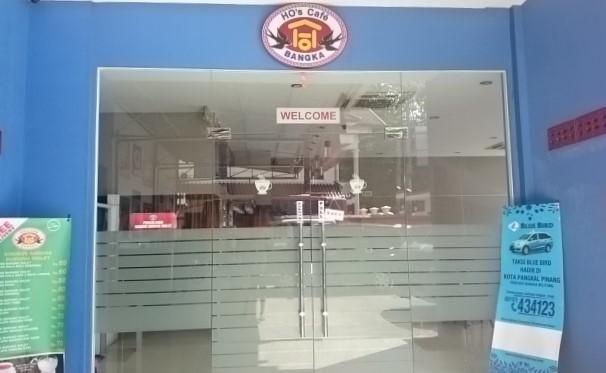 HO's Cafe Sarang Burung Walet, Pangkalpinang. Dokumentasi Foto: Sari Novita