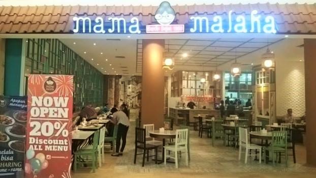 Restoran Mama Malaka, One Bell Park. Dokumentasi: Sari Novita
