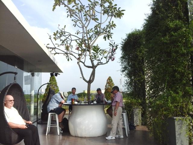 Montezuma Rooftop lounge