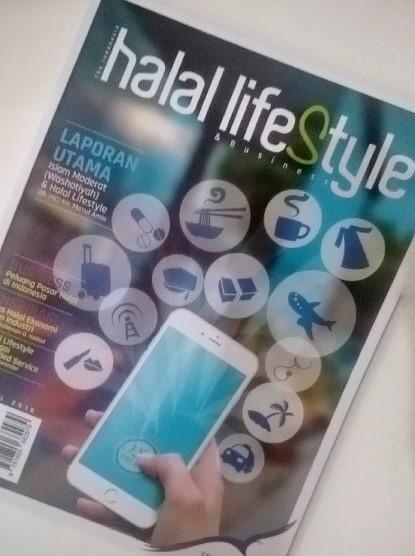 Halal Lifestyle Magazine: Dokumentasi Sari Novita