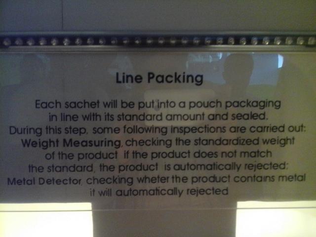 LIne Packing Kopi Ginseng CNI