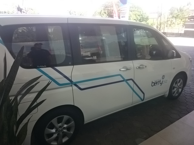 Transportasi Berry Biz Hotel