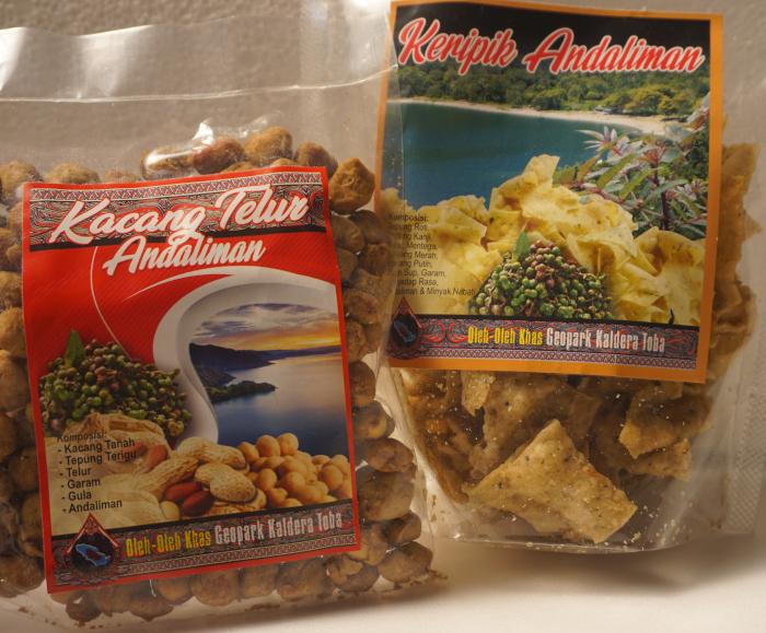 Keripik Andaliman & Kacang Telur Andaliman - image: sarinovita.com