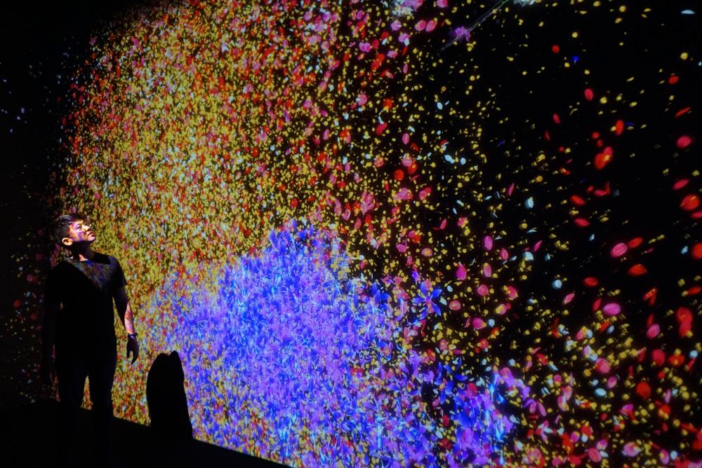 Animals of Flowers, Symbolic Lives - Pameran Seni Digital, Gandaria City - sarinovita.com