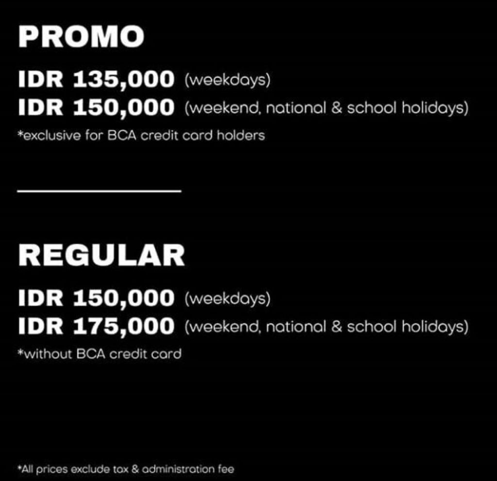 Harga Tiket Pameran Seni Digital INteraktif Future Park Jakarta - sarinovita.com