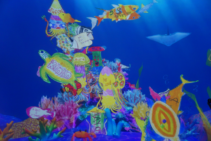 Sketch Aquarium - Pameran Seni Digital Future Park Jakarta- Gandaria City - sarinovita.com