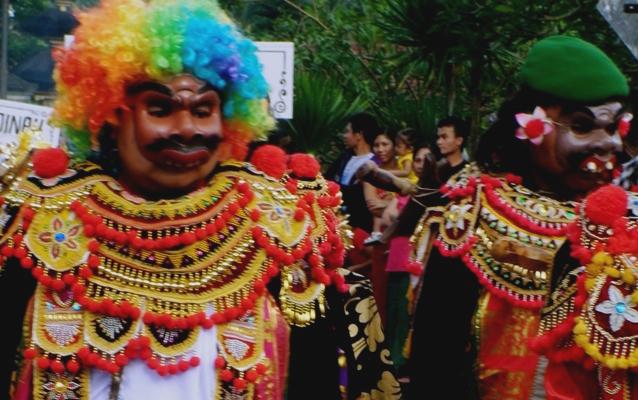 Komedi Wayang Bondres, Bali