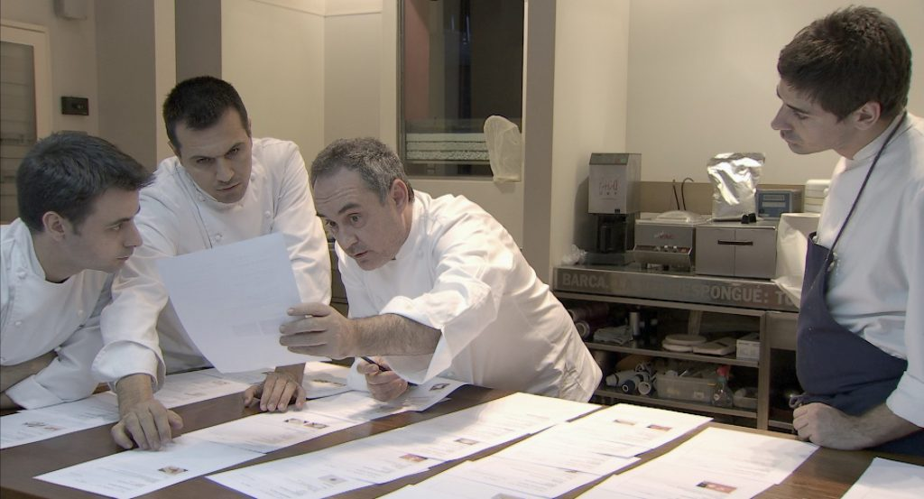 Film Dokumenter El Bulli - Cooking in Progress - Film review - sarinovita.com